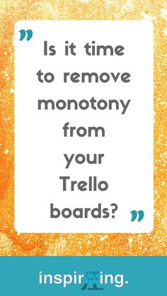 How to Set up Productivity Workflows in Trello | Being a Trello administrator is kind of a boring job. Learn how to get the hang of automations in your Trello board, and create beautiful workflows that do your job. Just better, just faster, just more efficiently! #productivity #workflows #Trello #ProductivityWorkflows #Self-Organization Business Tips, Online Business, Business Quotes, Good Quotes, Good Time Management, Change Your Life, Evernote, Best Blogs, Growing Your Business