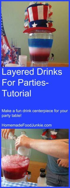 Layered Drinks For P