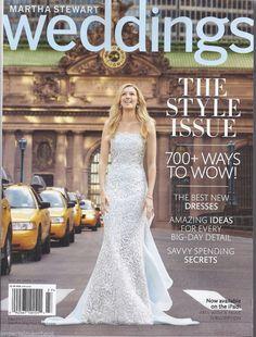 Martha Weddings Magazine The Style Issue Best Dresses Spending Secrets