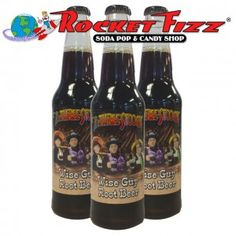 It's not too late to get Dad the perfect gift. Especially if he is a Three Stooges Fan. Just run out to you nearest Rocket Fizz Soda Pop and Candy Shop and pick up a six pack of Three Stooges Wise Guy Root Beer. Click through to find out more. #ThreeStooges #FathersDay