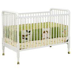 DaVinci Jenny Lind 3-in-1 Stationary Convertible Crib White- Cute alt. to RH metal crib