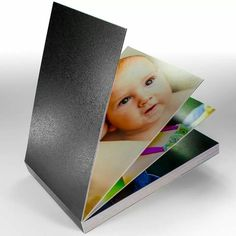Lay-flat leather bound photo book