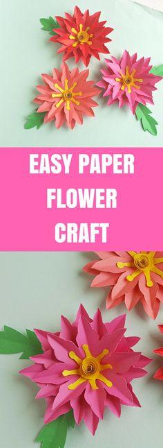 Easy Paper Flower Cr