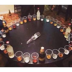 Genius! It's spin the bottle on steroids! I wanna play now!!!