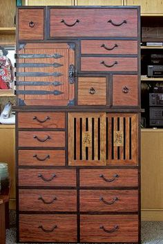 Tansu Buffet By Bruce Miller   Construction Is Several Stacked Pieces, So  It Can Be