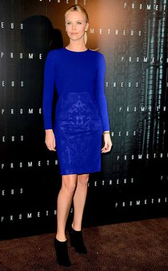 Blue Steel from Charlize Theron's Best Looks | E! Online