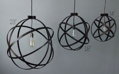 23 inch Modern Spherical Light/ Entryway Light/ by BlueOxHome