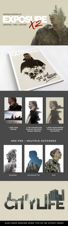 The Gorgeous, Artistic Design Bundle of Popular Creative Items) - Design Cuts Effects Photoshop, Photoshop Tips, Photoshop Tutorial, Lightroom, Web Design, Tool Design, Design Art, Cv Inspiration, Graphic Design Inspiration