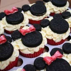Mickey and Minnie! Going to make these with Kayla!