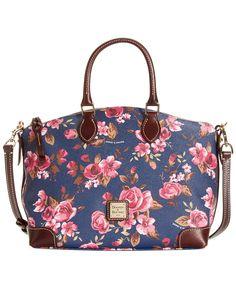 Dooney & Bourke Cabbage Rose Satchel - Dooney & Bourke - Handbags & Accessories - Macy's