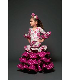 Cuban Dress, Spanish Dress, High Fashion, Kids Outfits, Sewing Patterns, Girls Dresses, Costumes, Christmas Ornaments, Holiday Decor