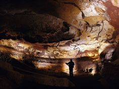 The Lascaux Caves, just a short drive from our home base in the Dordogne!