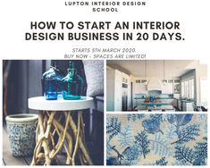 Interior Design Photos, Interior Design Business, Interior Design Services, Coastal Paint Colors, Paint Colours, Simple Interior, Business Pages, Pinterest For Business, Create A Logo