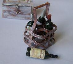 Botellero Miniature Bottles, Princess Room, Miniature Houses, Wine Rack, Dollhouse Miniatures, Alcohol, Dozen, Furniture, Dollhouses