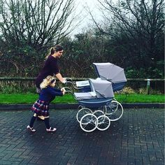 Image result for twin silver cross pram