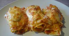 recette lasagnes roulées au chorizo chèvre et tomates