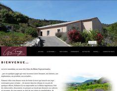 """Création du site-internet du domaine viticole """"Guy Farge"""" à Saint-Jean-de-muzols - Licom Développement"""