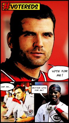 Remember to #votereds if you want to see your favorite Cincinnati Reds in the All-Star game. Vote here: www.reds.com/vote