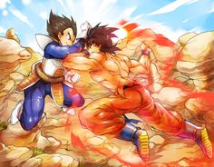 Goku VS Vegeta #DBZ