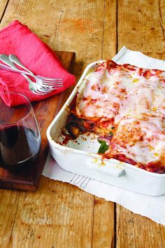 Mushroom and Spinach Lasagna Recipe