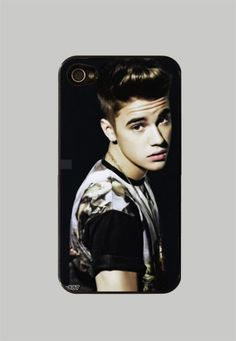 Justin Bieber iPhone 4 case i LOVE IT!!!! it shall be mine (when i get an iphone) lol