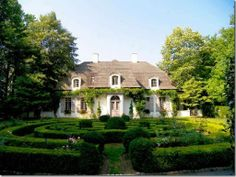 Things That Inspire: More French Style Houses -Another James Means house; he had a love for French architecture, and a talent for translating it to the Atlanta architectural landscape. This beautiful house was modeled after a 19th century house in France that was photographed by a clay tile roof company in the early 1930s.