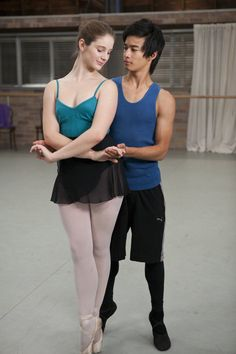 Dance Academy Christian and Tara
