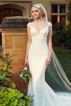 D1767 Essense of Australia Wedding Dress #Essense #SneakPeek #WeddingDress