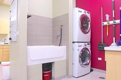 Bathing and laundry room | Hospital Design