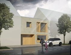 """Check out new work on my @Behance portfolio: """"Haus for an Architekt"""" http://be.net/gallery/55047077/Haus-for-an-Architekt"""