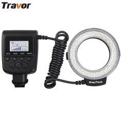 >> Click to Buy << Travor Macro 48pcs LED Ring Flash Light RF550D For Canon Nikon Panasonic Pentax Olympus DSLR Camera #Affiliate