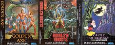 Mega Drive Covers