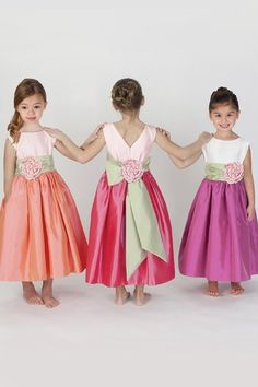 The Princess Before the Queen: Flower Girl Dresses! - Blackbride.com