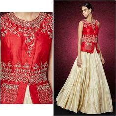 Choli Designs, Lehenga Designs, Saree Blouse Designs, Indian Dresses, Indian Outfits, Indian Bridal Fashion, Mode Hijab, Indian Ethnic Wear, Indian Designer Wear