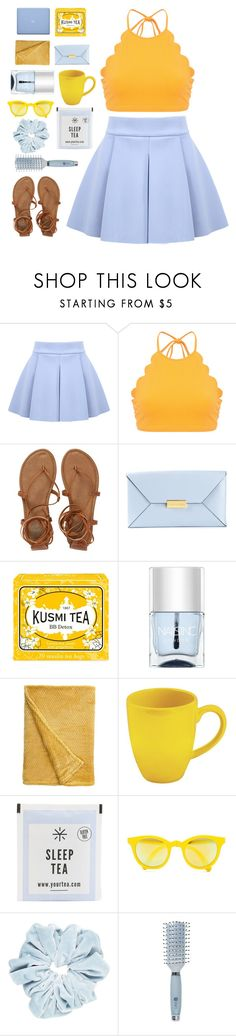 """""""*i got news for you baby, you're looking at the man*"""" by shattered-sunshine ❤ liked on Polyvore featuring Marysia Swim, Billabong, STELLA McCARTNEY, Kusmi Tea, Nails Inc., Waechtersbach, Sunpocket and Goody"""