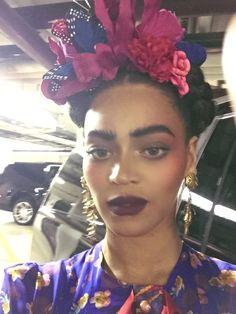 Beyoncé as Frida Kahlo