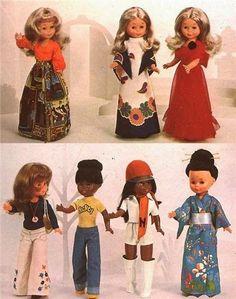 NANCY Y TÚ...DOS BUENAS AMIGAS Rhett Butler, Vintage Dolls, Retro Vintage, Vestidos Nancy, Nancy Doll, American Doll Clothes, Barbie I, Sweet Memories, Doll Clothes Patterns