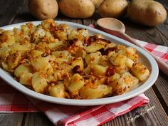 Patate sabbiose, ricetta contorno