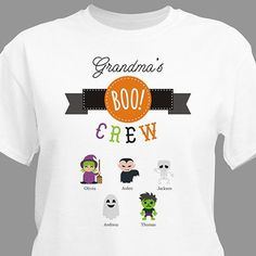 Personalized Boo Crew T-shirt
