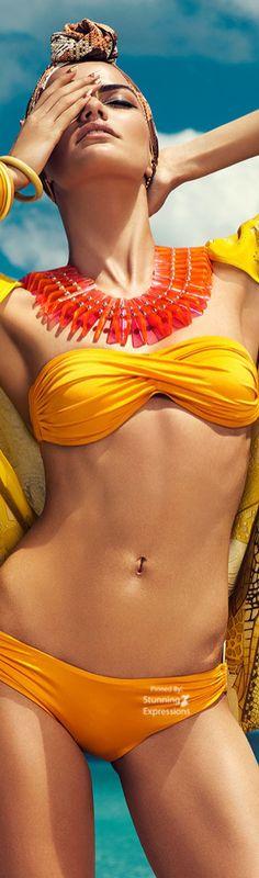 Barbara Fialho Beach Fashion 4 Harper's Bazaar Mexico by Danny Cardozo