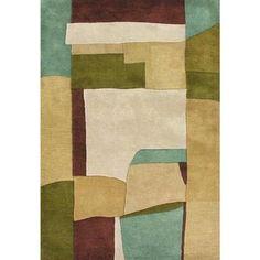 $400 Handmade Metro Sand New Zealand Blend Wool Rug (9' x 12')