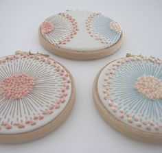 Ideas For Embroidery Hoop Crafts French Knots French Knot Embroidery, Embroidery Hoop Art, Embroidery Applique, Cross Stitch Embroidery, Embroidery Patterns, Flower Embroidery, Japanese Embroidery, Simple Embroidery, Diy Broderie