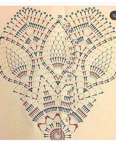 Knitting Patterns, Crochet Patterns, Knitting Tutorials, Christmas Tree Pattern, Beautiful Crochet, Crochet Doilies, Hand Fan, Diys, Mandala