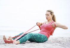 Bliv stærk og tonet med en træningselastik - So Funny Epic Fails Pictures Bikini Fitness, Bikini Workout, Fitness Tips, Fitness Motivation, Health Fitness, Daily Home Workout, At Home Workouts, Band Workout, Bra Hacks