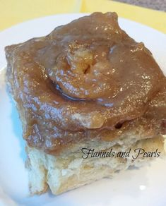 Caramel roll recipe from North Dakota