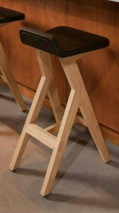 Add collapsing hinge to hang under countertop bar? Add collapsing hinge to hang under countertop bar? Easy Woodworking Projects, Woodworking Furniture, Plywood Furniture, Pallet Furniture, Furniture Projects, Cool Furniture, Wood Projects, Furniture Design, Plywood Art