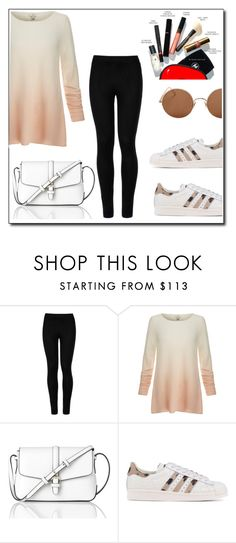 """""""Untitled #528"""" by caroowcastillo ❤ liked on Polyvore featuring Wolford, Joie, L.K.Bennett, adidas Originals and Sunday Somewhere"""