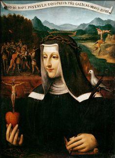St Catherine of Sienna- my fave Catholic Saint.