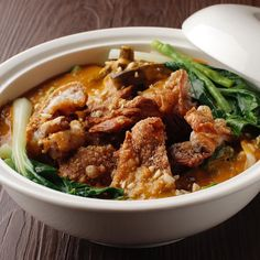 A generous bowl of crispy pork knuckles and fresh seasonal vegetables in a mouthwatering peanut-annatto sauce — Crispy Kare-Kare is… Resorts World Manila, Kare Kare, Crispy Pork, Vegetable Seasoning, Curry, Seasons, Fresh, Vegetables, Ethnic Recipes