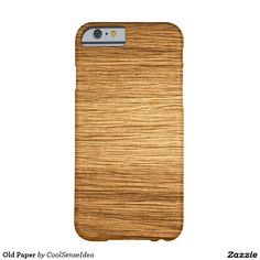 Old Paper Barely There iPhone 6 Case